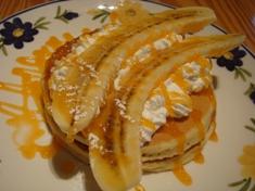 バナナホットケーキ