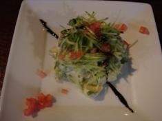 アボガドのサラダ