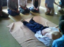 AEDの使い方とCPRの実技訓練