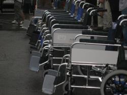 車椅子講習会 車椅子にもいろいろありますね