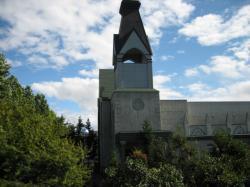 窓からは隣のセントポール教会が見えて(^^)