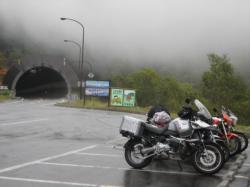 雨の三国峠