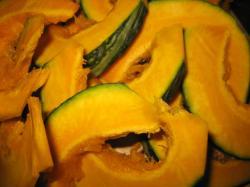 秋にはおいしいかぼちゃ♪