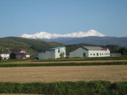 大雪山を臨んで(2006年10月)