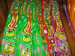 子どもに人気のサワーペーパーキャンディ