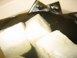 あつあつの湯豆腐ですよ(^^)