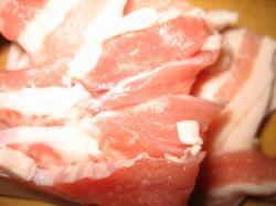 豚肉はバラがおいしいですね(^^)