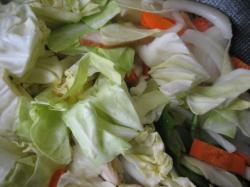 野菜をどどーーっと入れます(^^)V