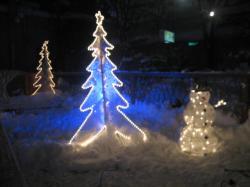 光のツリー きれいです(#^.^#)