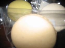 マカロン(レモン・バニラ・コーヒー) 各210円