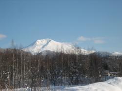 真っ白な大雪山旭岳