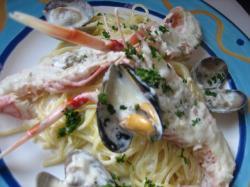 Bパスタランチは「今月の料理」 豪華!