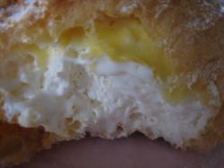 チーズのクリームがおいしいです(^^)