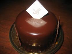 このチョコケーキもおいしかったです(^^)V