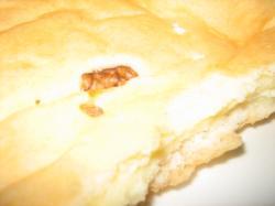 カマンベールチーズのパンはちょっとレンジで温めて
