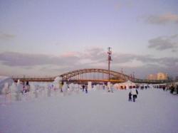 2月の旭橋