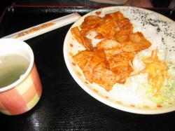 ケチャップ焼き(普通盛り)550円