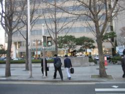 韓国の歩行者信号、点滅しないグラフ表示タイプ