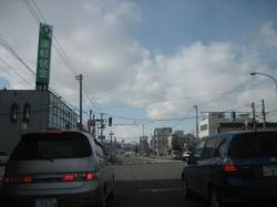 旭川4条通りから札幌方面へ