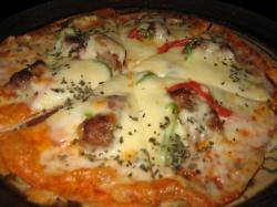 シシカバブのピザ