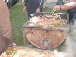 ジンギスカンに焼き肉です(^^)
