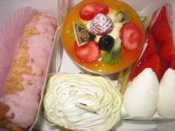 サロン・ド・北倶楽部のケーキ