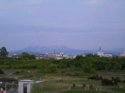晴れた日の大雪山