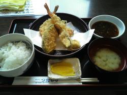 天ぷら定食ランチ