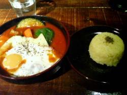 RAMAIIのスープカレー(ビーフ)