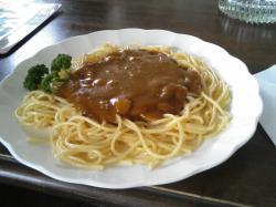 カレースパゲティー 580円