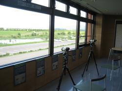 2階には、望遠鏡もあります