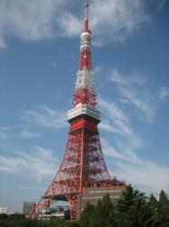 2日目も良く晴れて東京タワーがきれいです(^^)