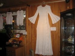 実際に着られたウェディングドレス(*^_^*)