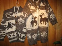 カウチセーターが暖かそう♪