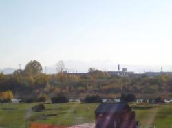 久しぶりに晴れ渡り大雪山が見えました♪