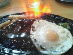 おぉっ(!o!) 火が・・・