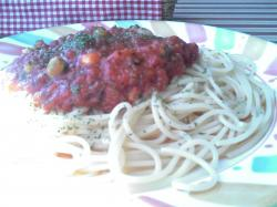 トマトが利いたポモドーロ