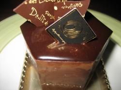 チョコレートムースのケーキ