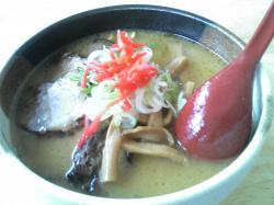 らーめん屋 炎 正油チャーシューメン800円に味付煮卵80円