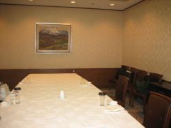 旭川ターミナルホテル6Fのオークルーム