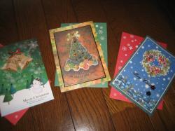 クリスマスカード早く出さなきゃ!