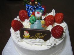 大黒屋のクリスマスケーキ 15cm 2,100円