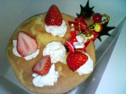 シフォンのクリスマスケーキ 800円