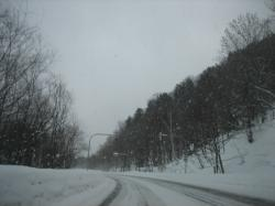 2月初旬の浮島峠