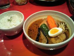 チキンスープカリ950円