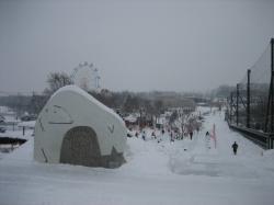 第18回市民氷彫刻コンテスト 旭山動物園会場