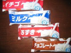 60円のアイスキャンディー