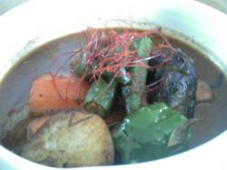 チロ、スープカレー、ポーク2
