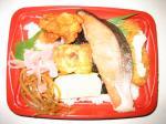 紅鮭のっけ弁当 398円