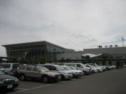 駐車場も広い!